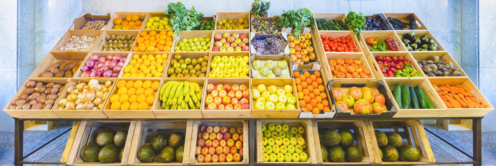 Frutas procedentes de agricultura ecológica